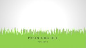 Free Grass PowerPoint Background