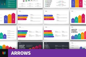 Arrow Shape PowerPoint Templates