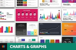 Graphs & Charts PowerPoint Template