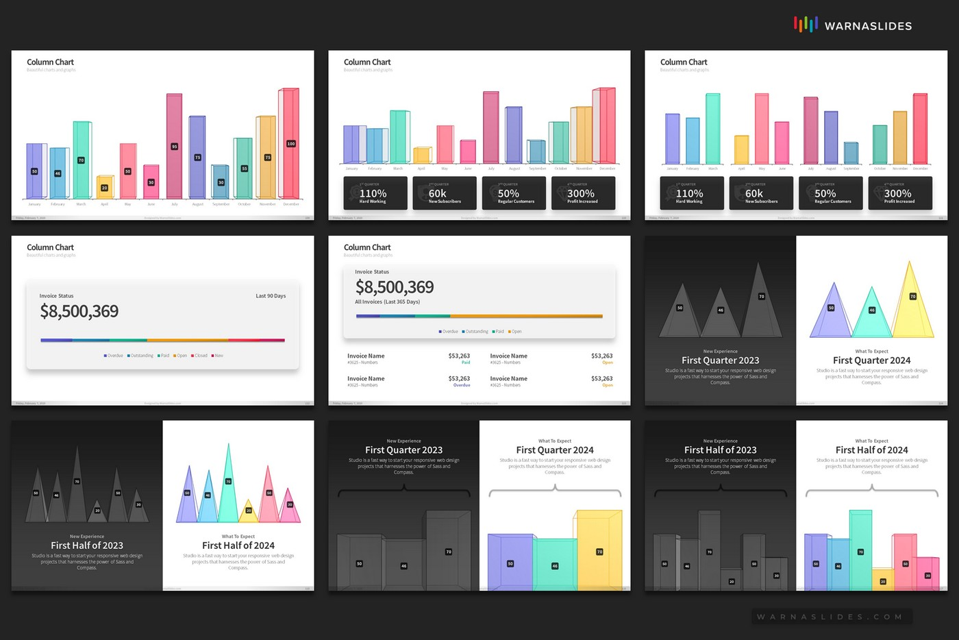 Beautiful-Charts-Graphs-PowerPoint-Template-for-Business-Pitch-Deck-Professional-Creative-PowerPoint-Icons-019