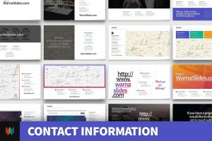 Contact Information PowerPoint Template
