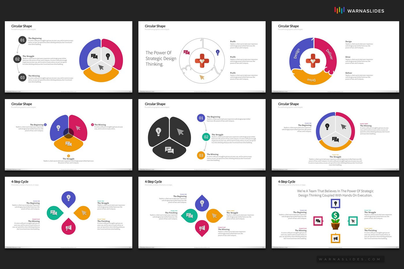 Cycle-Circular-Process-Step-PowerPoint-Template-for-Business-Pitch-Deck-Professional-Creative-PowerPoint-Icons-009