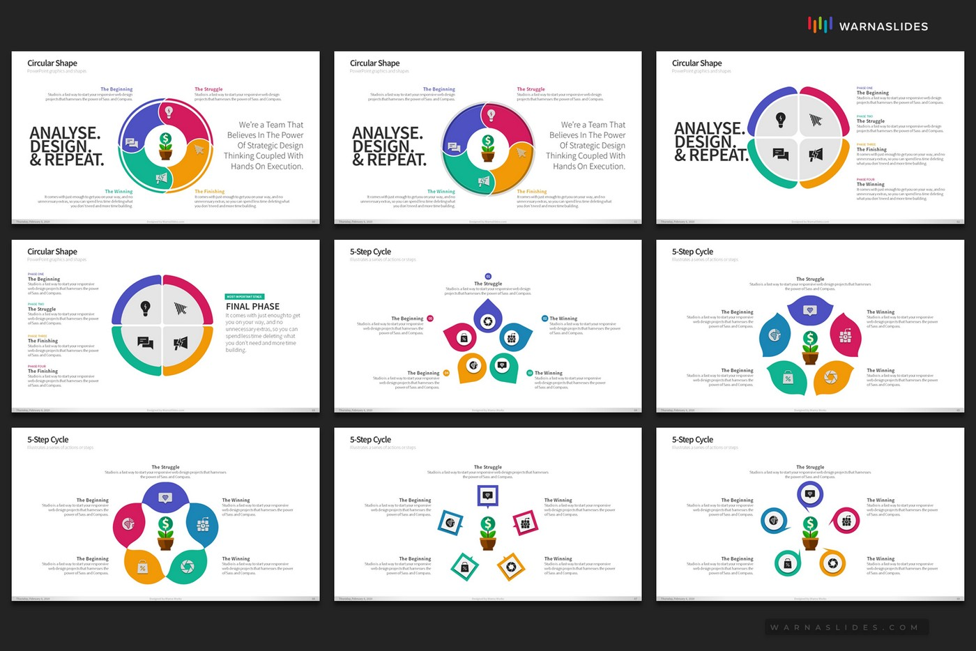 Cycle-Circular-Process-Step-PowerPoint-Template-for-Business-Pitch-Deck-Professional-Creative-PowerPoint-Icons-013