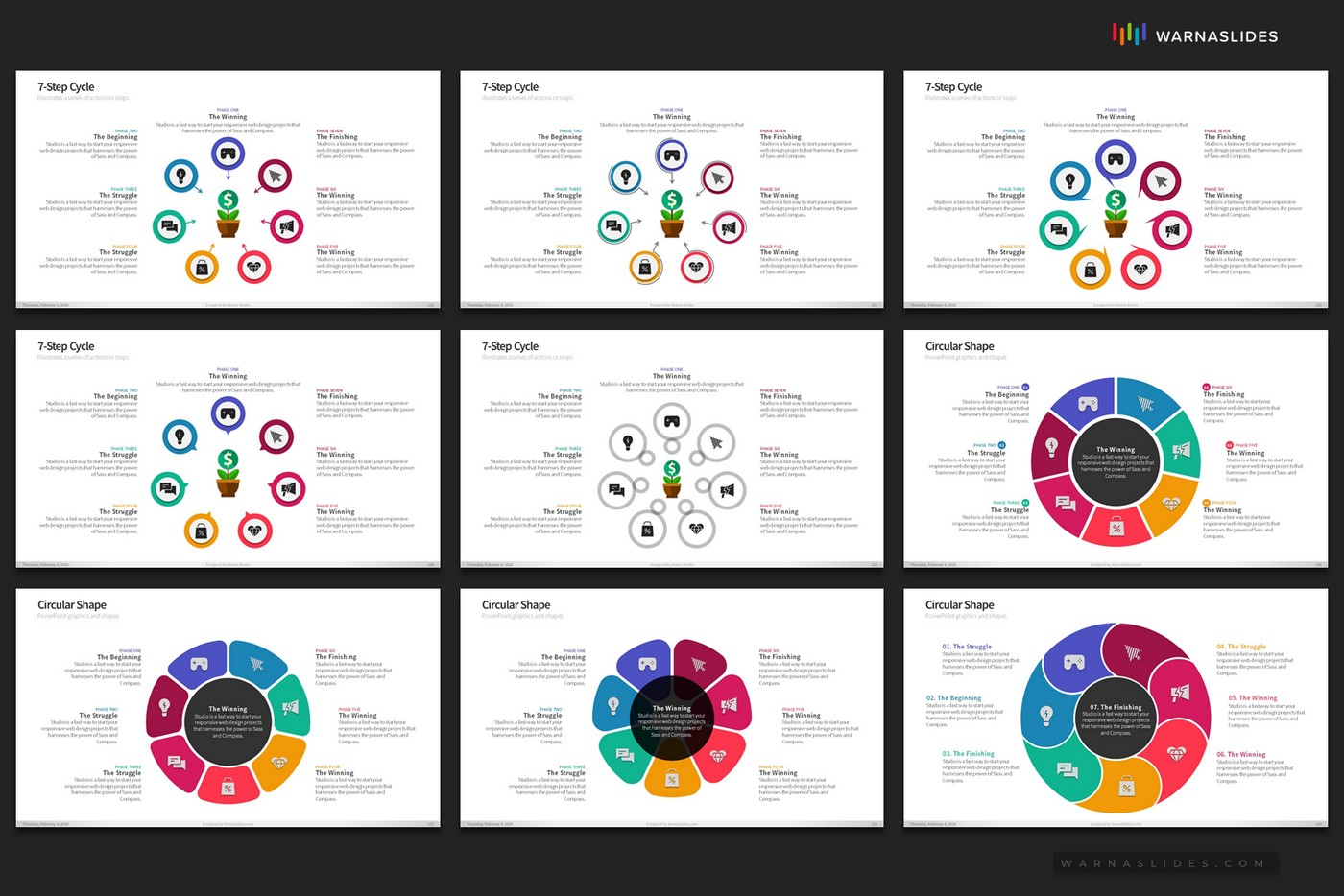 Cycle-Circular-Process-Step-PowerPoint-Template-for-Business-Pitch-Deck-Professional-Creative-PowerPoint-Icons-022