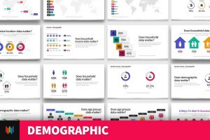 Demographic & Data & PowerPoint Template