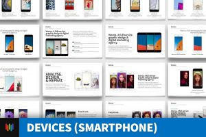 Devices (Smartphone) PowerPoint Template