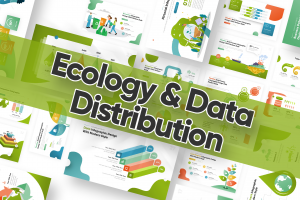 Ecology & Data Distribution Powerpoint Template
