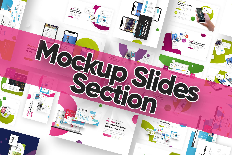 Mockup slide