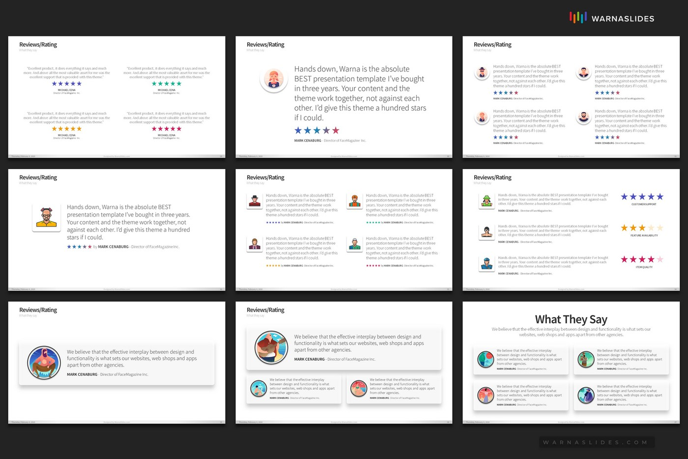 Ratings-Reviews-Testimonial-PowerPoint-Template-for-Business-Pitch-Deck-Professional-Creative-PowerPoint-Icons-009