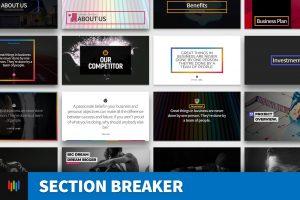 Section Breaker PowerPoint Template