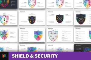 Shield & Security Shape PowerPoint Templates