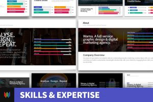 Skills & Expertise PowerPoint Template