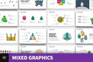 Mixed Graphics PowerPoint Templates