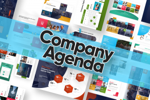Company Agenda Powerpoint Template