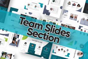Team Slide Powerpoint Template