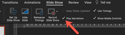 you can edit or trim your PPT audio recording at this point