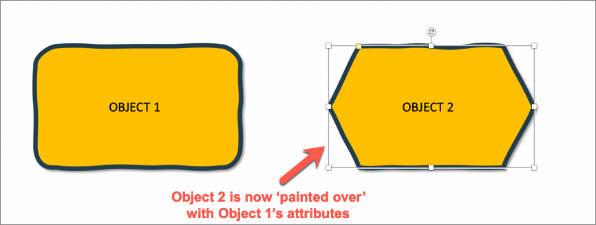 3rd step - click on object 2