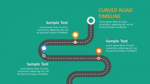 Road Timeline PowerPoint Template