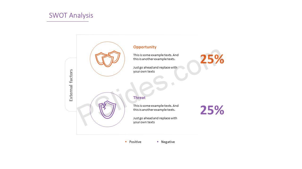 Simple SWOT Analysis Slide 5