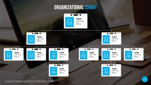 Organizational Chart PowerPoint Template