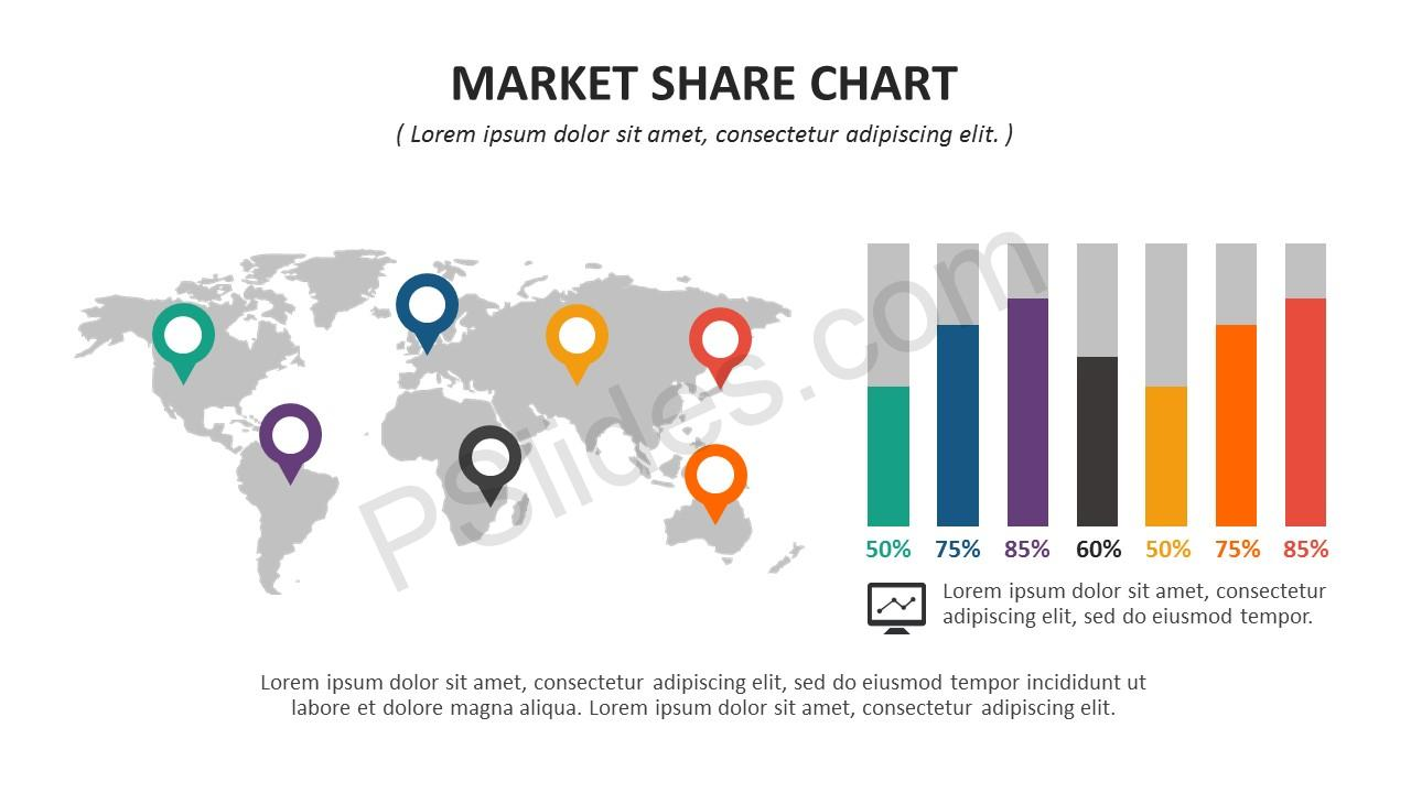 Market Share PowerPoint Template Slide 7