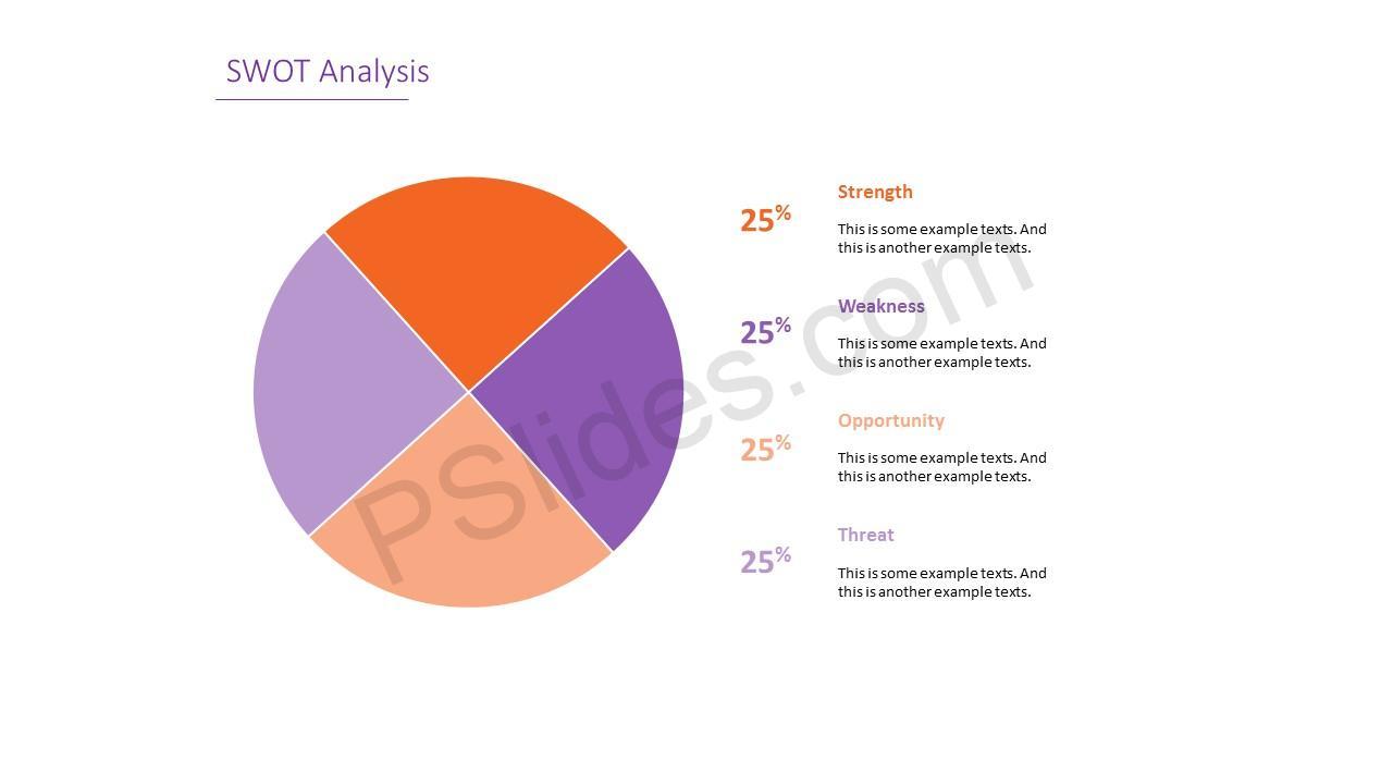 Simple SWOT Analysis Slide 7