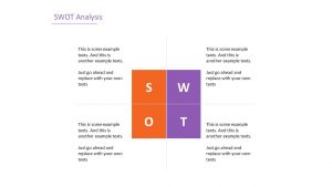 Simple SWOT Analysis Slide 8