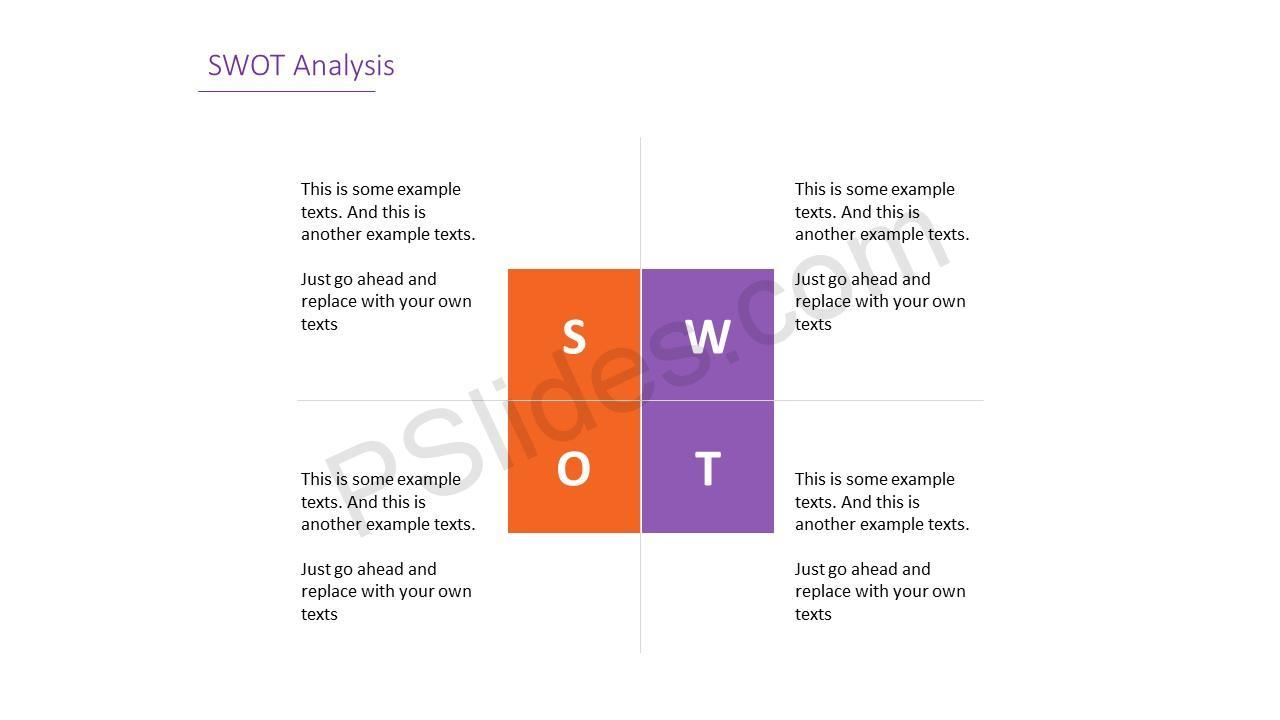 Simple SWOT Analysis Slide 8