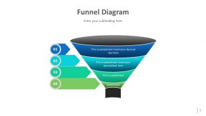 Modern PowerPoint Funnel Diagram