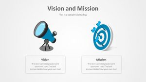 Free Vision and Mission PowerPoint Template