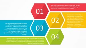 Hexagon List PowerPoint Template