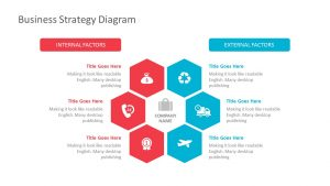 Free Business Strategy PowerPoint Diagram