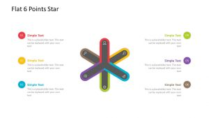 Flat 6 Point Star Diagram