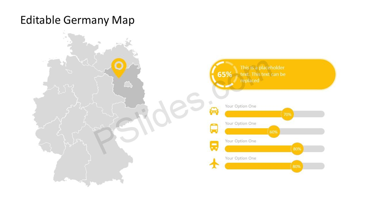 German Map Slides
