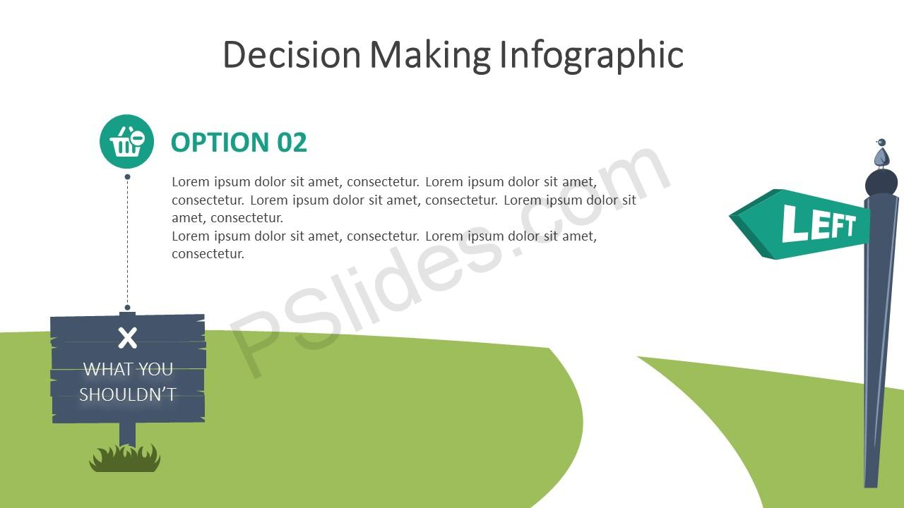 Decision Making Infographic for PowerPoint – Option 2