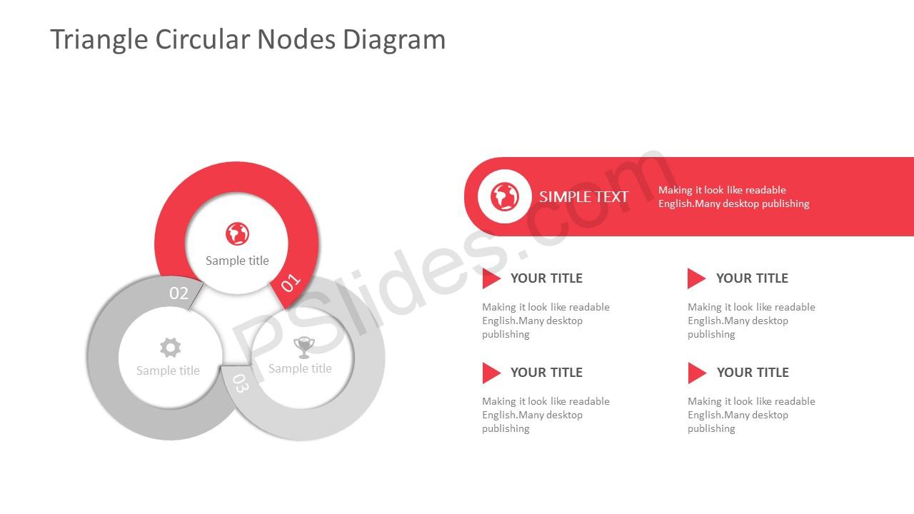 3-Stage Circles PowerPoint Template