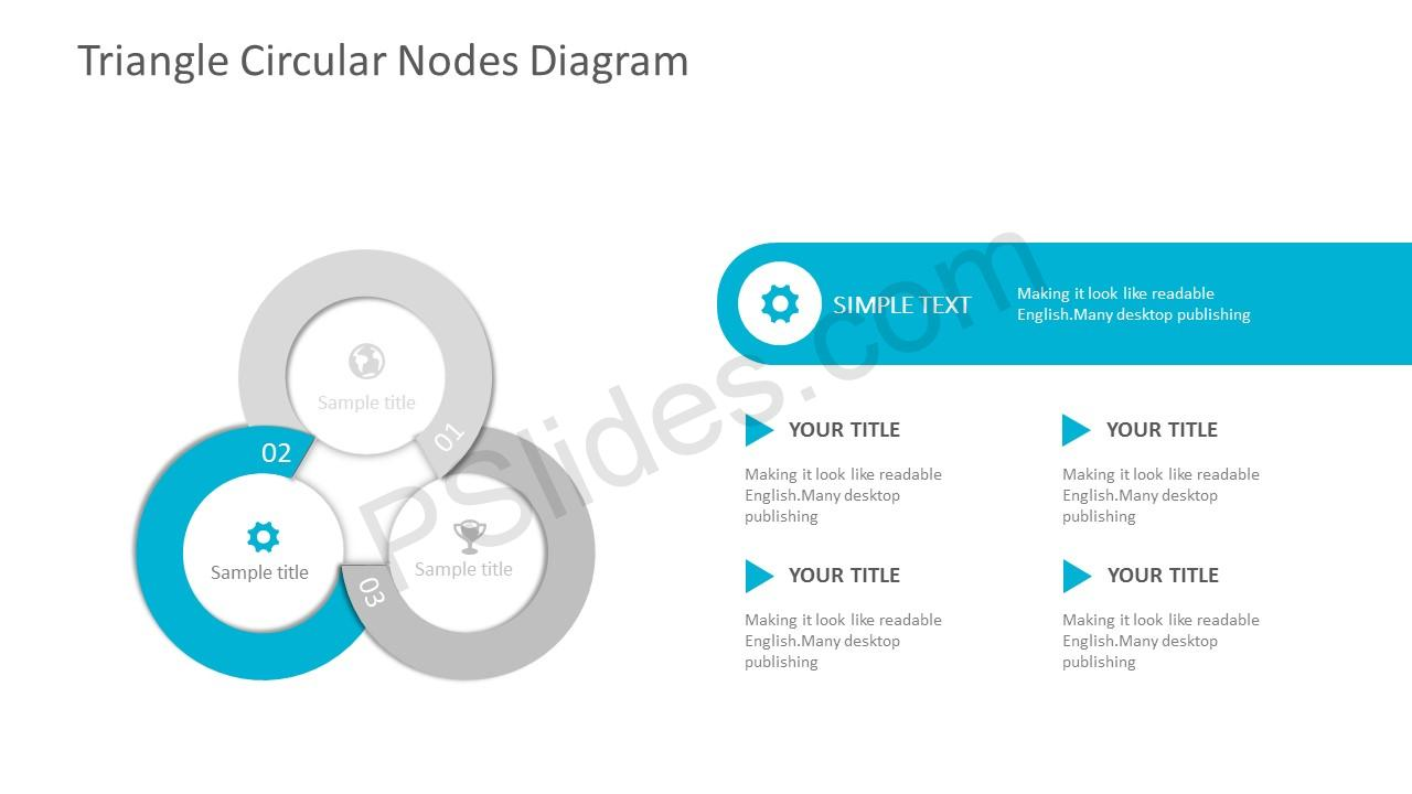 3-Stage Circles PPT Template