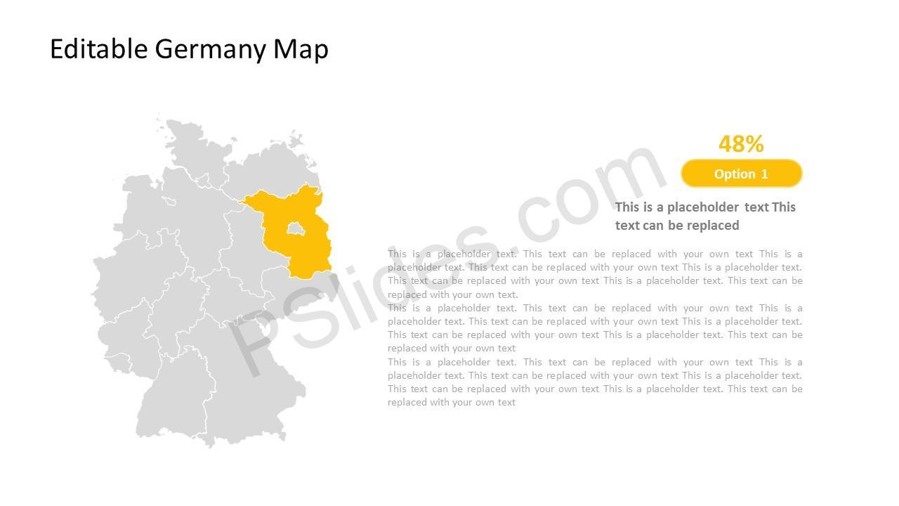Deutschland PowerPoint Maps