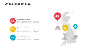 United Kingdom Map PowerPoint Template