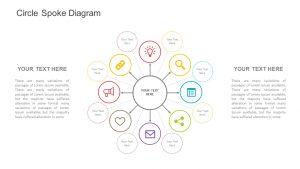 Circle Spoke Diagram for PowerPoint