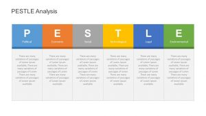 Simple PESTLE Analysis for PowerPoint
