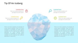 Tip Of An Iceberg PowerPoint Template