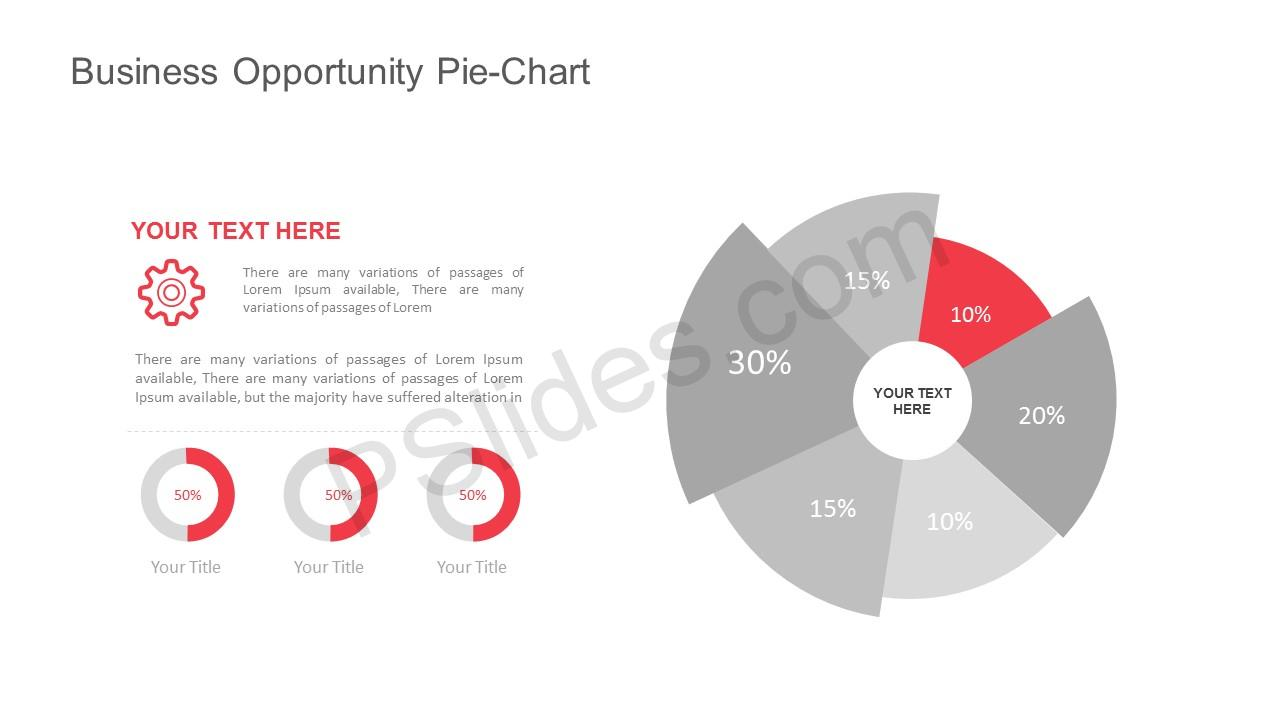 Free Business Opportunity Pie-Chart for PowerPoint