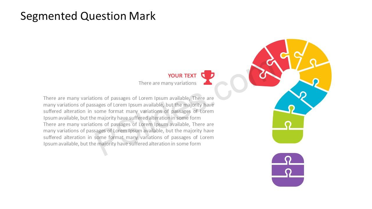 Question mark PPT