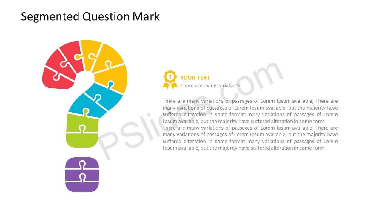 PowerPoint Question Mark Template