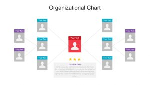 Organisational Chart PowerPoint Template