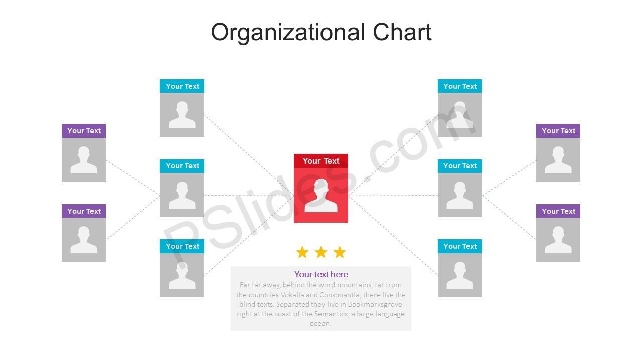 Powerpoint template org chart
