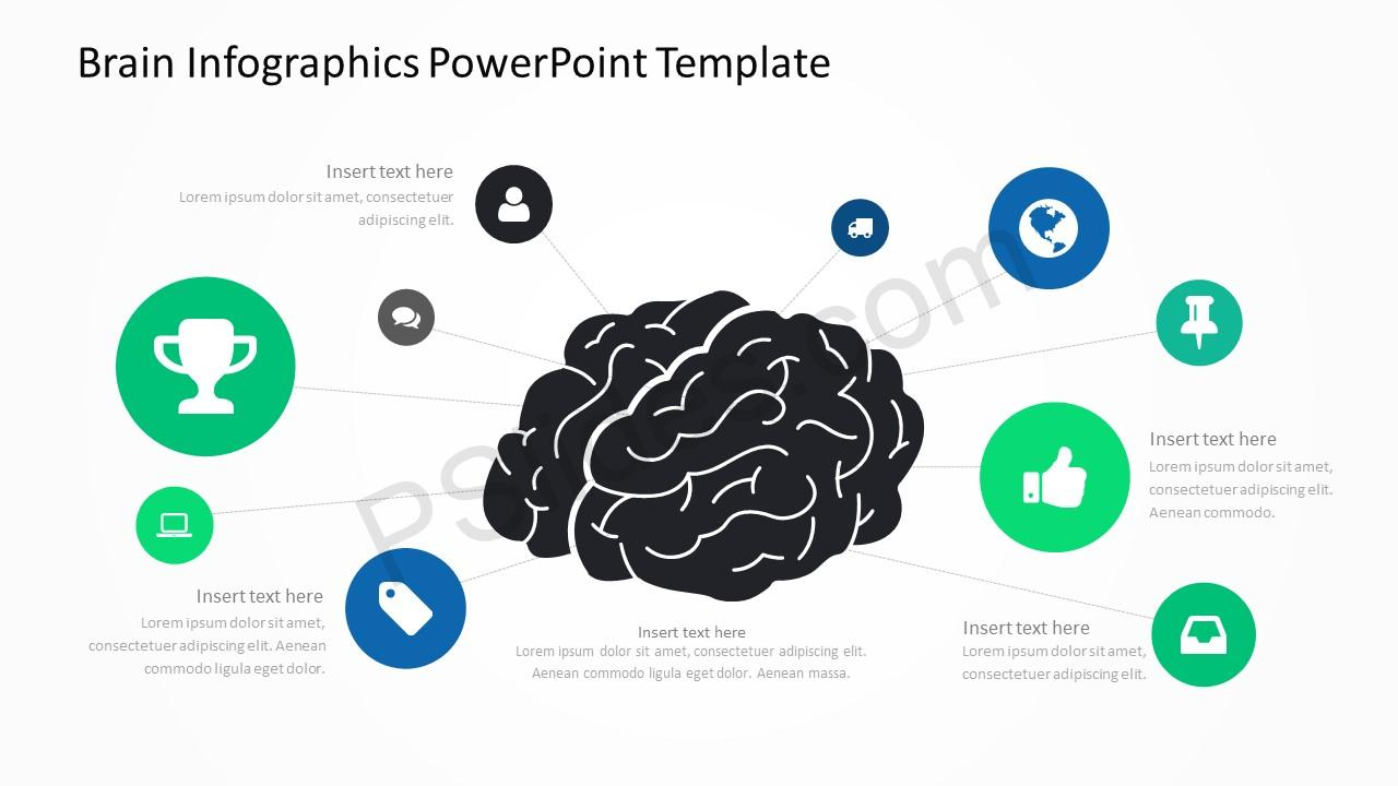 Brain Infographics PowerPoint Template 1