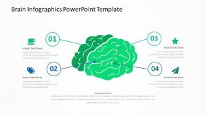 Brain Infographics PowerPoint Template