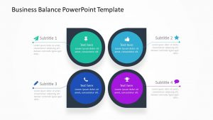 Business Balance PowerPoint Template